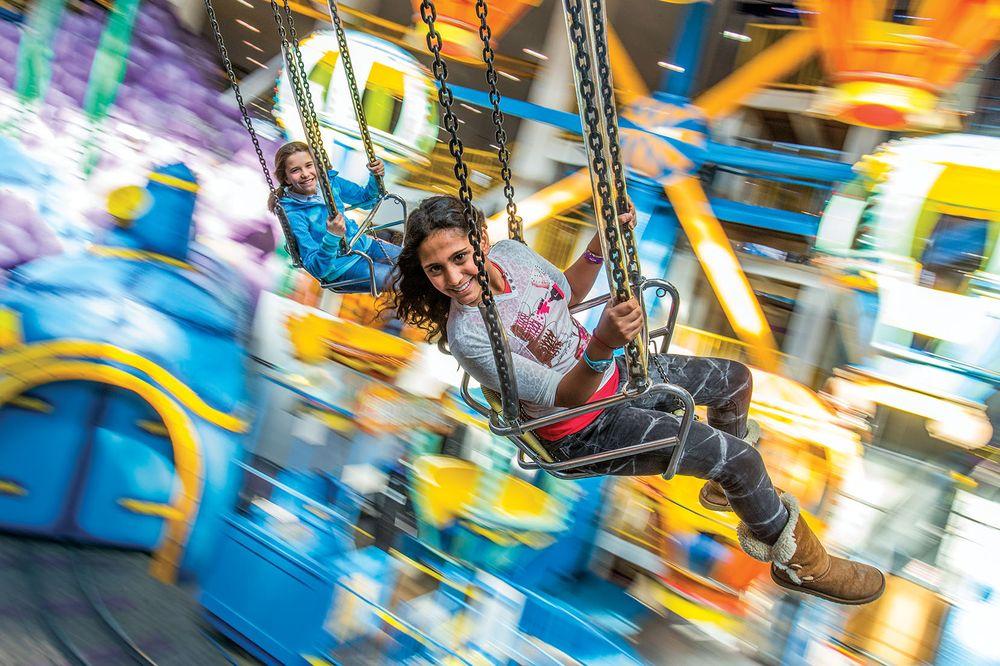 Galaxy Land amusement park Edmonton