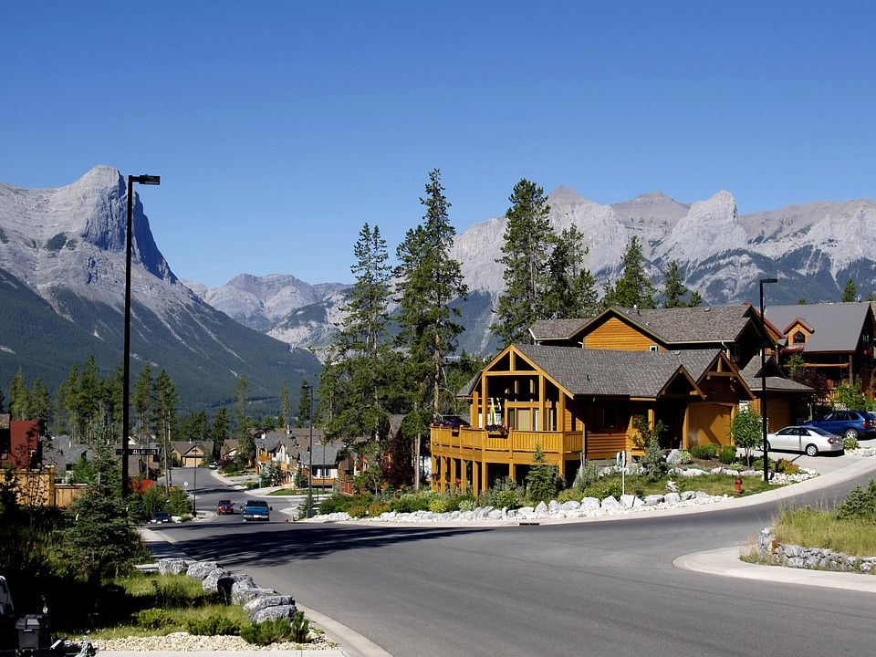 Canmore a small city in Canada