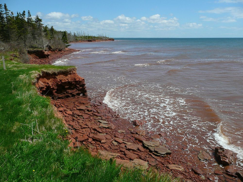 A Kayaking hot spot on Prince Edward Island