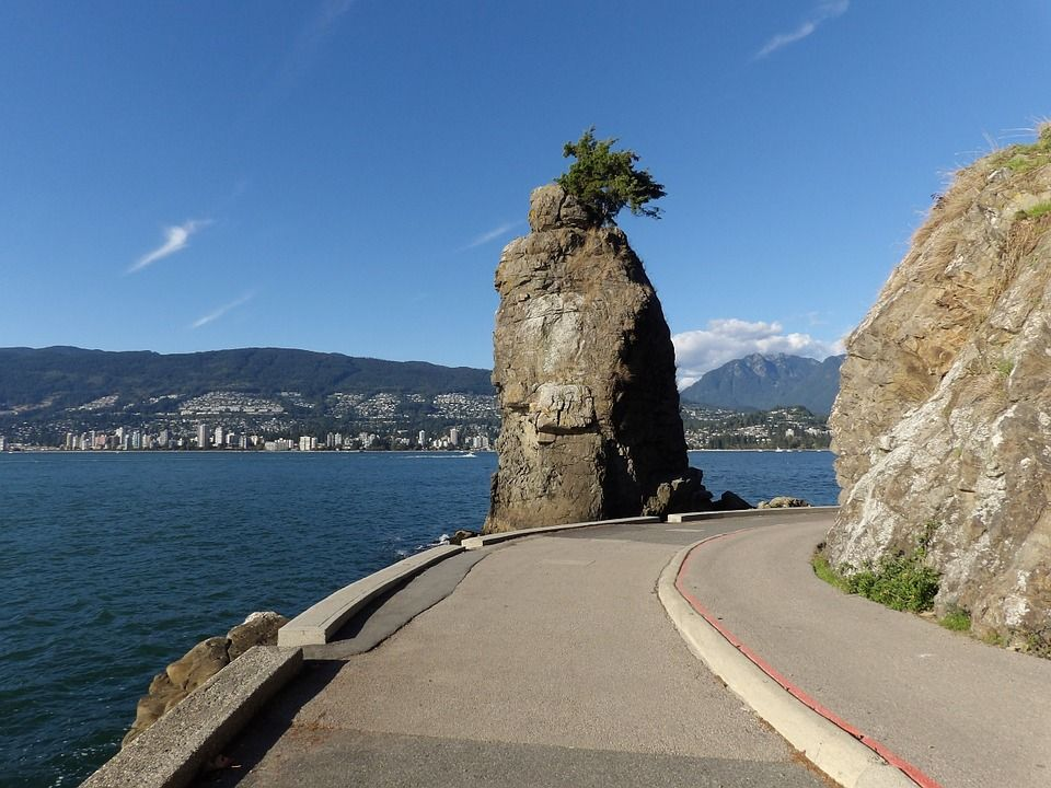 Siwash Rock, Vancouver, British Columbia