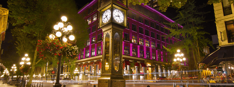 GasTown a tourist hotspot in Vancouver