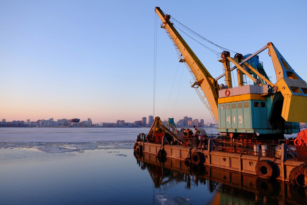 trawler off the coast of Canada
