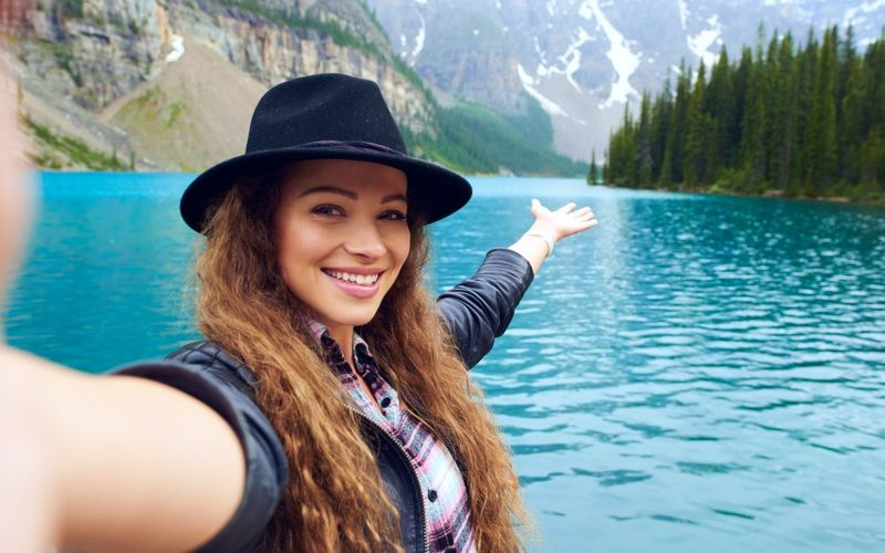 Student visiting parks in Canada