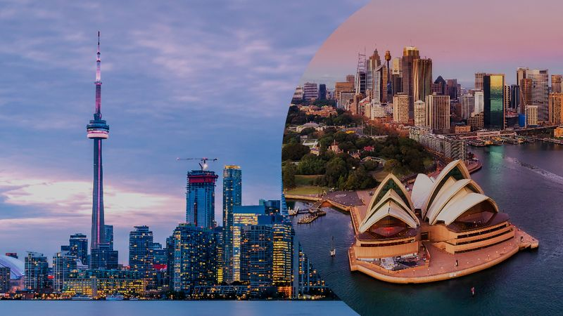 Australia vs Canadian Immigration System: A breakdown of the more popular programs