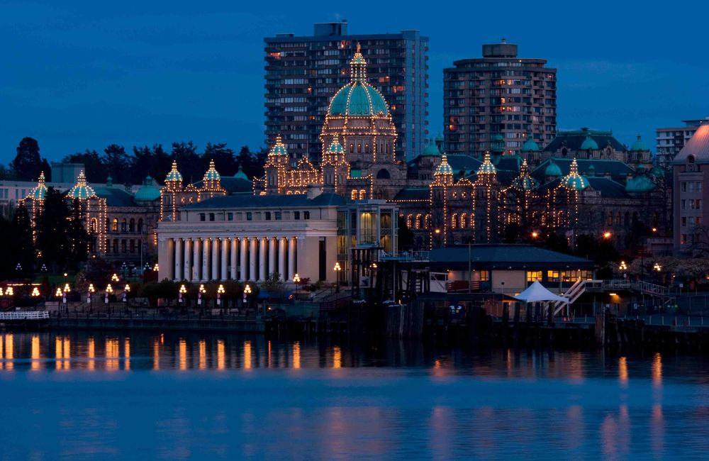 Parliament Buildings in Victoria BC