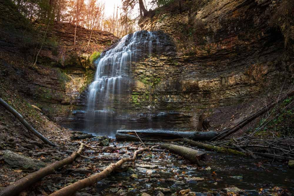 Tiffany Waterfall, Hamilton, Ontario