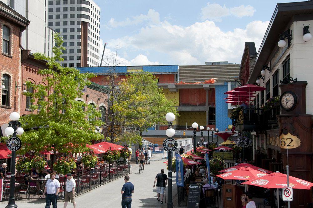 Byward Market in Ottawa, Canada