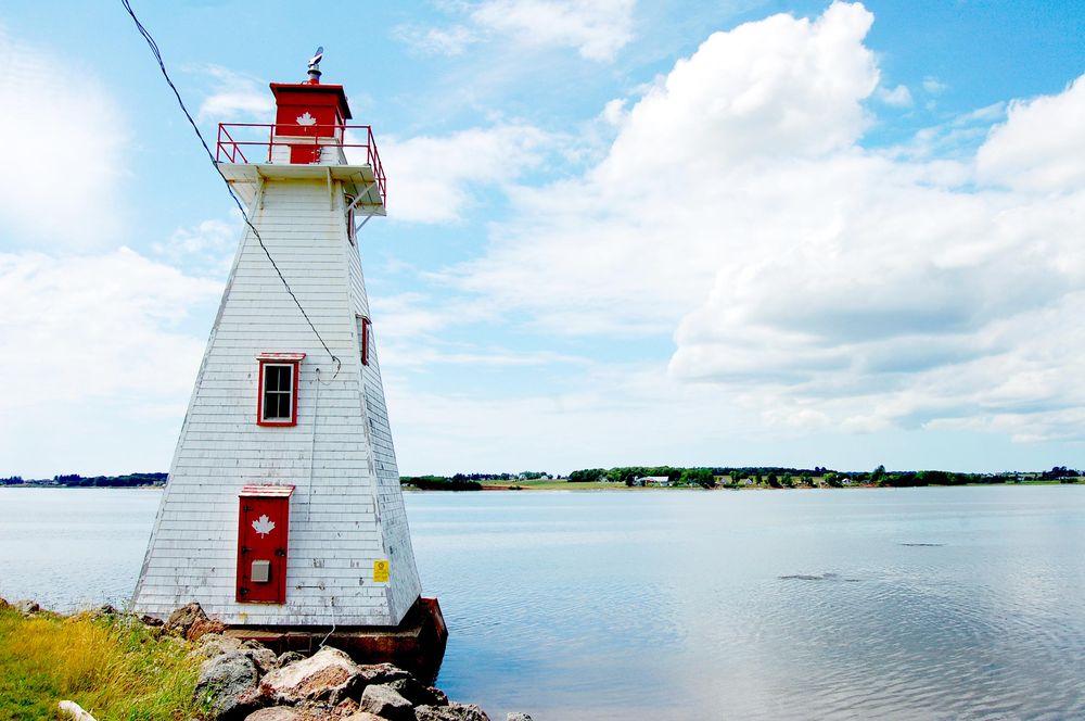 Brighton Beach Range Lighthouses Charlottetown coastline PEI