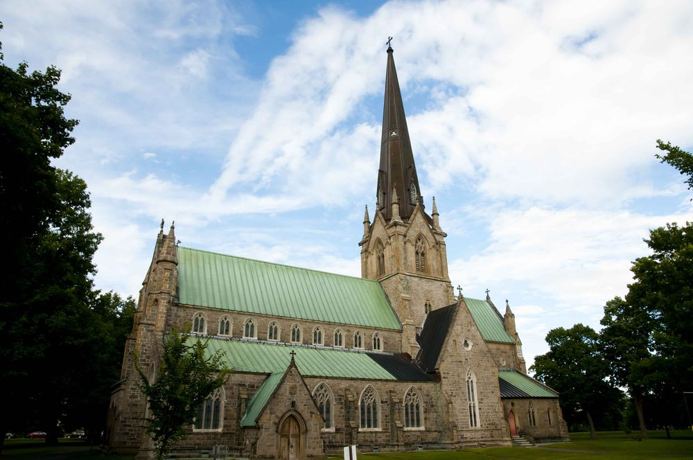 Christ Church Cathedral in the city of Fredericton, Canada.