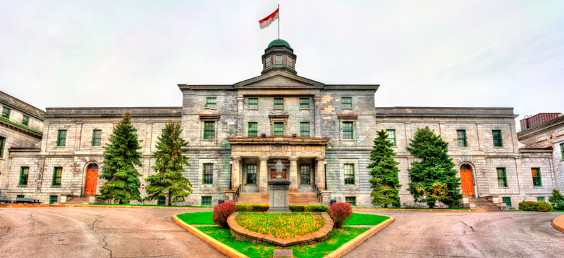 Study in Canada at The main building of Mcgill university