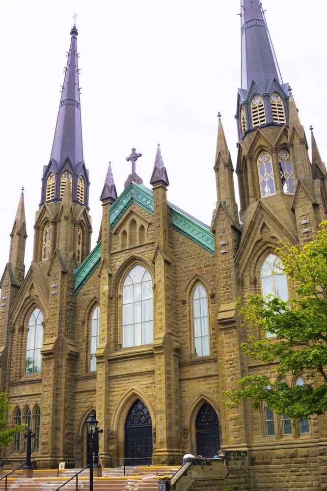 St. Dunstan Basilica in Charlottetown Canada