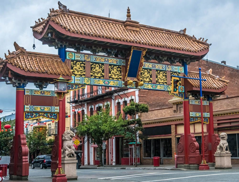 Chinatown in Vancouver Island