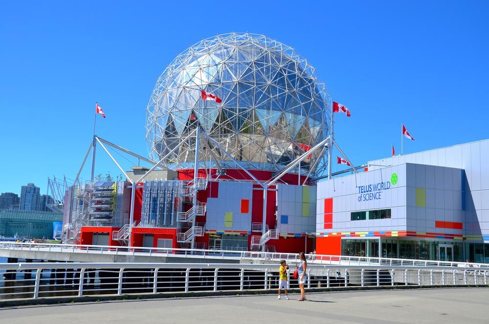 Science World at Telus World Of Science Vancouver