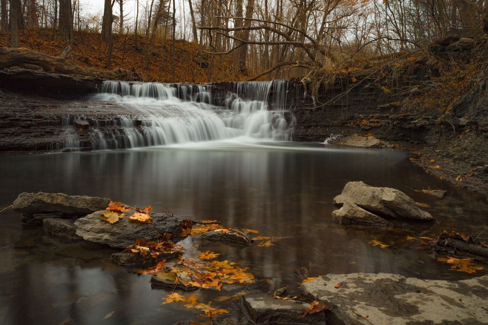 Wahoosh Falls in Mississauga