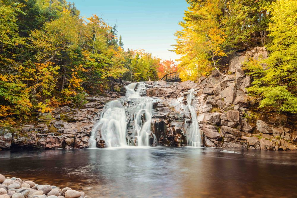 Mary Ann Falls in Cape Breton Highlands National Park Nova Scotia