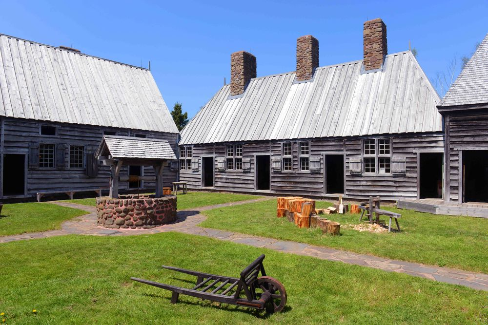 Port Royal National Historic Site in Port Royal Nova Scotia