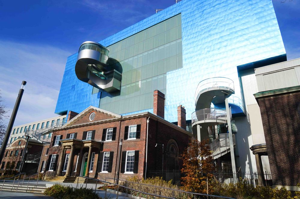 The exterior of the newly renovated Art Gallery of Ontario Toronto
