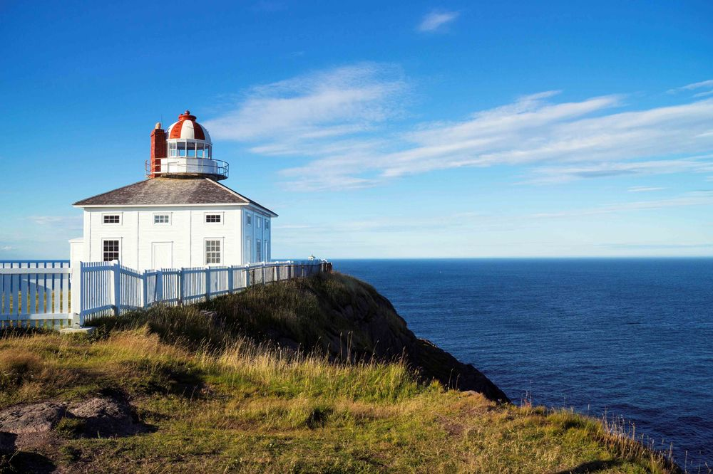 Cape Spear a National Historic Site St John's Newfoundland and Labrador
