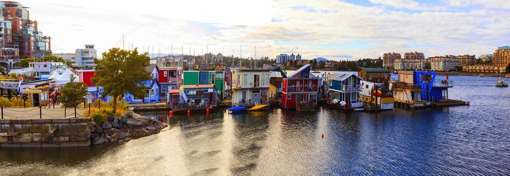 Victoria Inner Harbor, Fisherman Wharf, Victoria