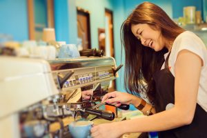 summer jobs in Canada barista