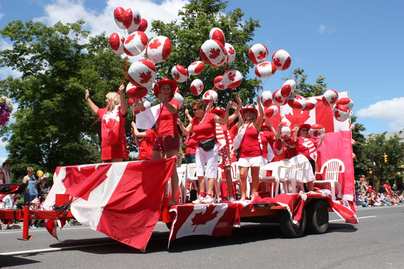 Canadian parade