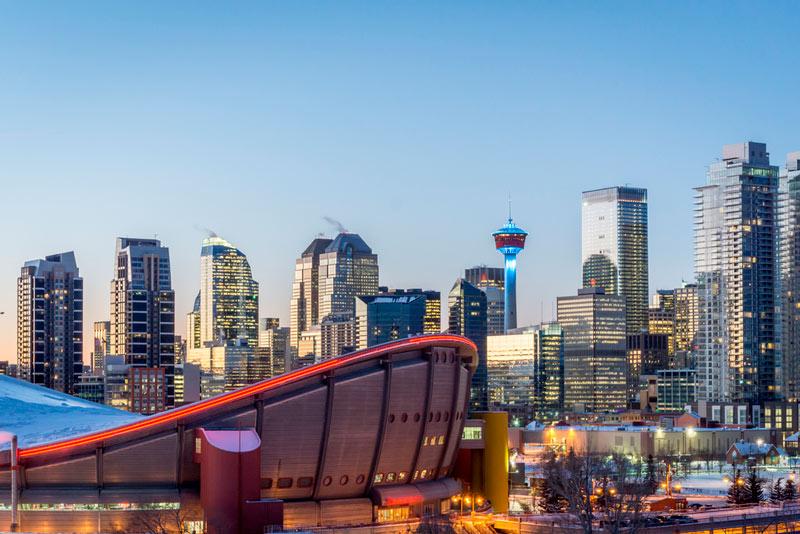 City setting Canada