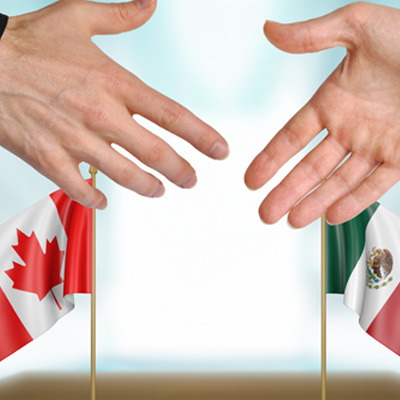 Unlike the USA, Canada welcomes Mexicans. Mexico now has a special agreement with Canada allowing its citizens to visit Canada without a visa. The process is usually fast and can be approved within minutes.