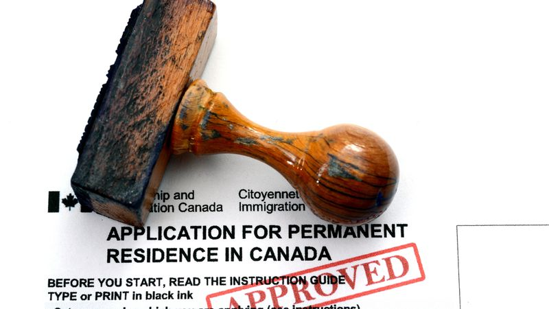 Become a permanent resident of Canada