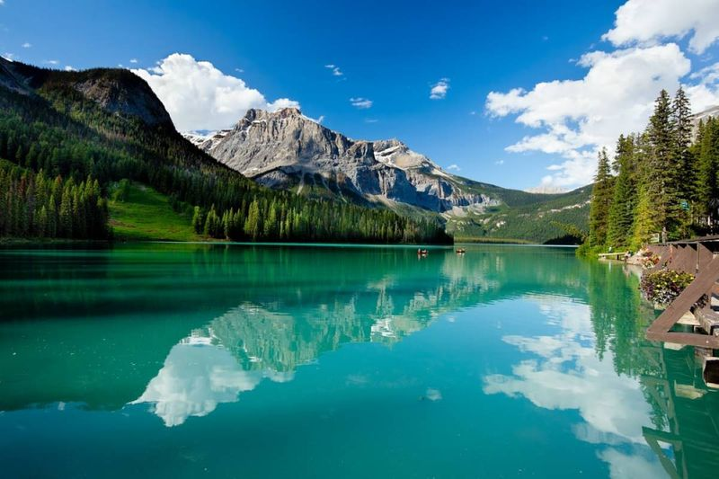 Why Canada | Emerald Lake Yoho National Park British Columbia | Canada visa application