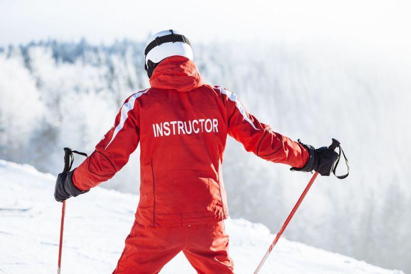 Canadian ski instructor