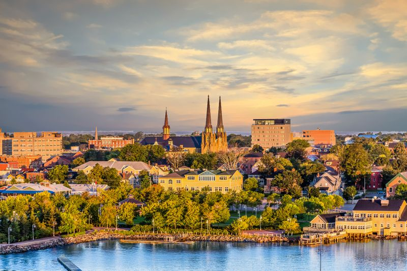 Immigration to Canada and move to Charlottetown