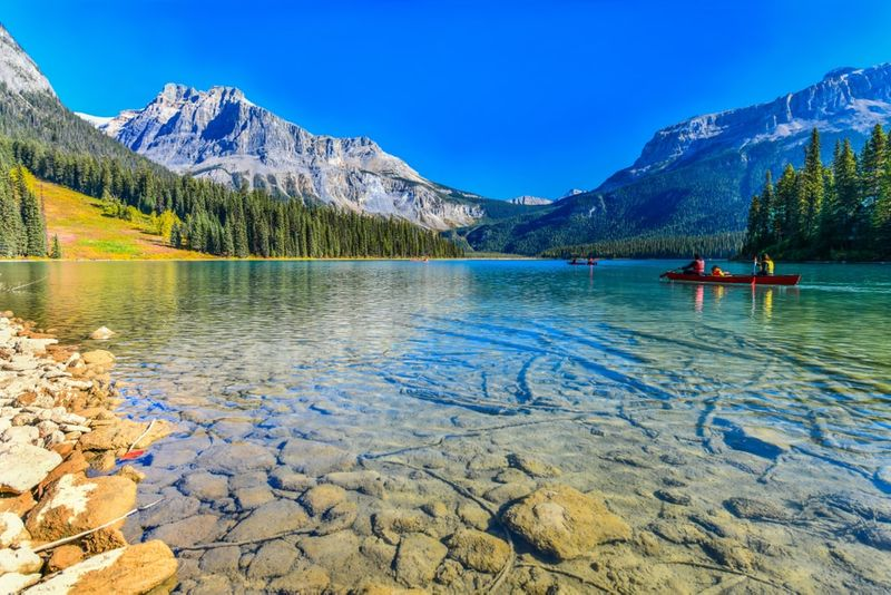 Emerald Lake Yoho National Park | visit Canada