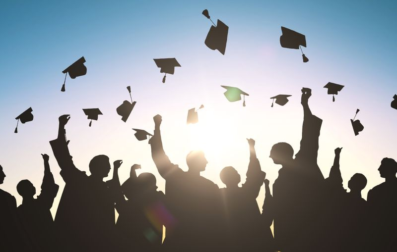 Graduating students