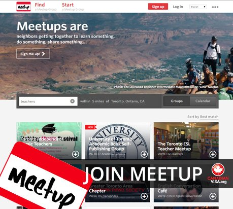 Meetup.com to meet other like-minded people within your industry