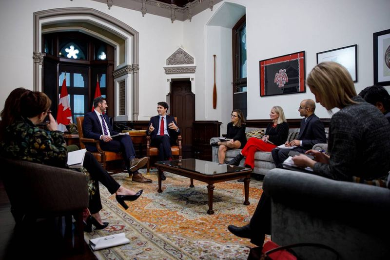 PM Justin Trudeau meets with mayor of Edmonton