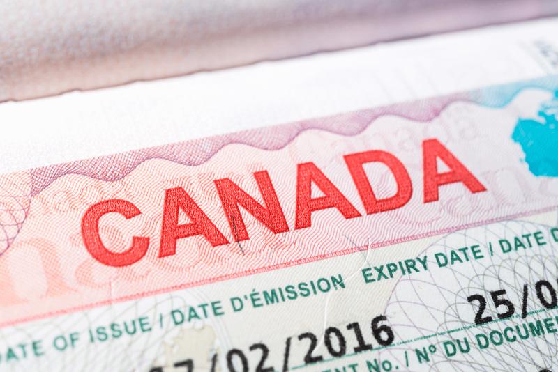 canadian visa on european passport