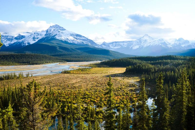 North-Saskatchewan-River-Icefields-Parkway-Canadian-Rockies-Canada | Life in Saskatchewan