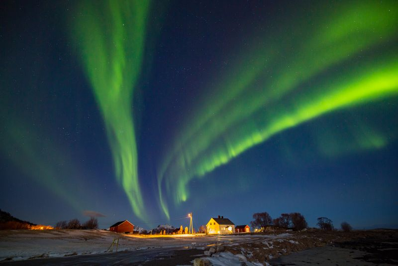 See the Northern Light with your Working Holiday Visa