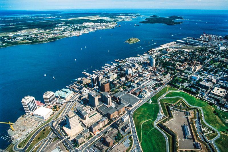 Nova Scotia aerial photo Canada