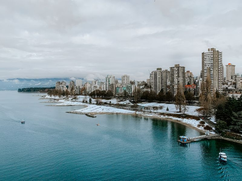 Immigrate to British Columbia where you could be living on the coast in Vancouver.