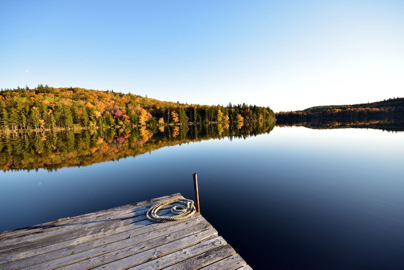 Pickett lake in New Brunswick is a must see!
