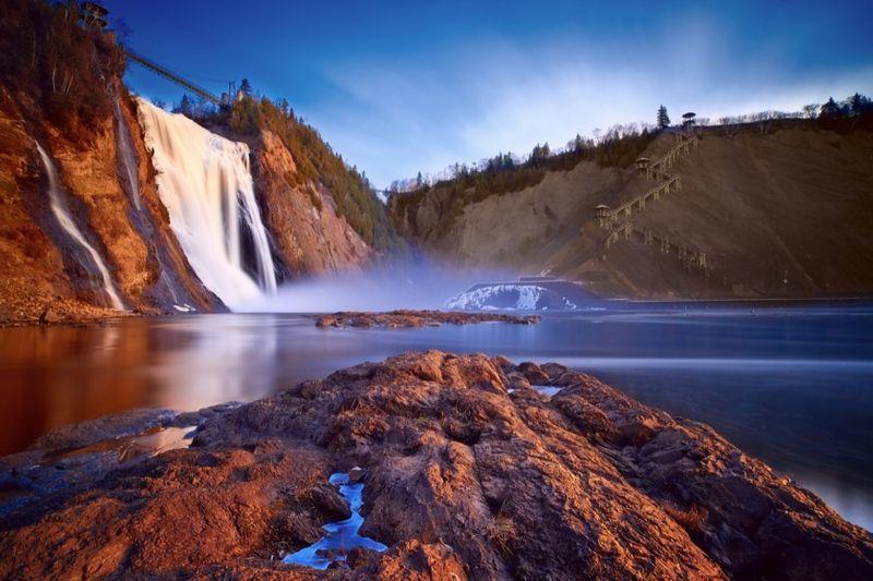 Qunecy falls Quebec, Canada