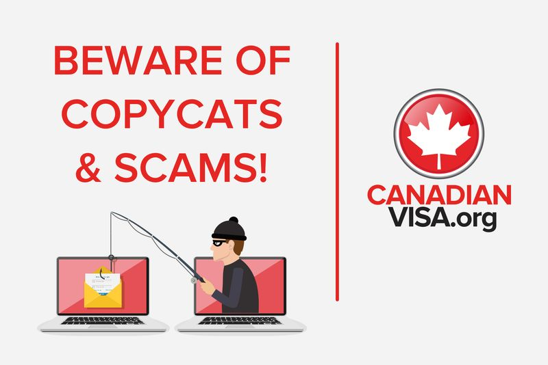 phishing scam fake Canadian immigration website | fake or real