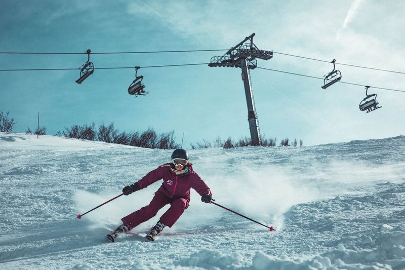 Skiing is a great activity for a family holiday in Canada.