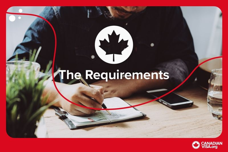 Man writing in journal | Express Entry Canada Requirements