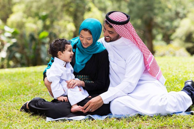 UAE Muslim Family who immigrated to Canada