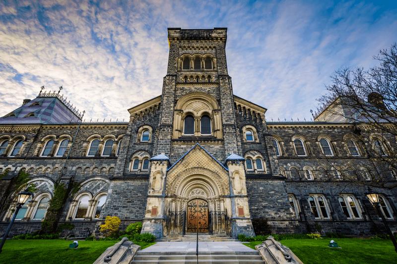 University campus of Toronto
