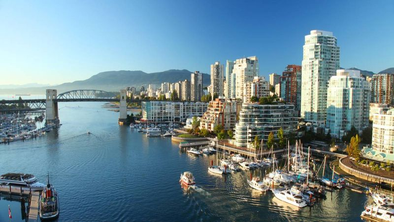 City view of Vancouver, Canada