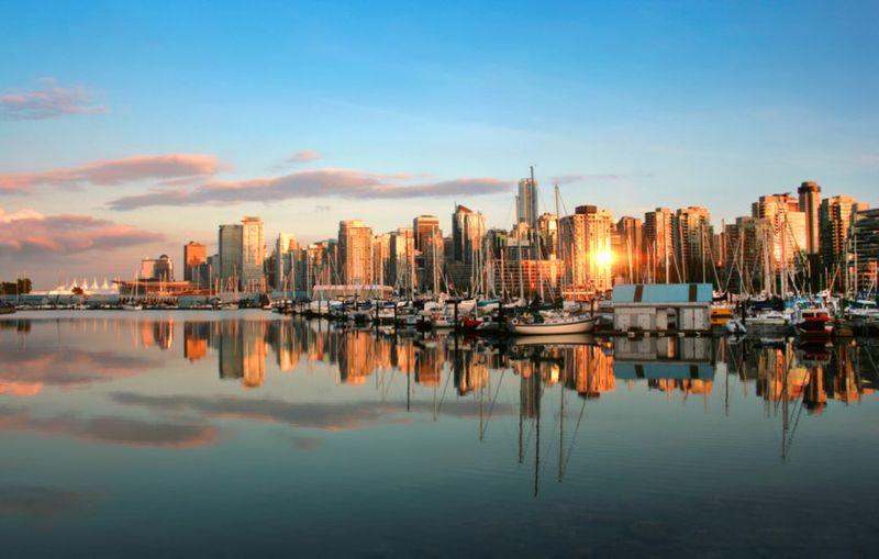 vancouver-city-bc-sunrise