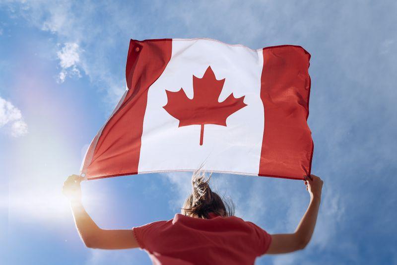 Immigrate to Canada as a sales representative.